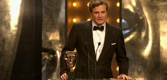 BBC One Colin Firth BAFTA